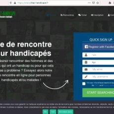 Chat-Handicape.fr - Avis sur Site de rencontre pour handicapés